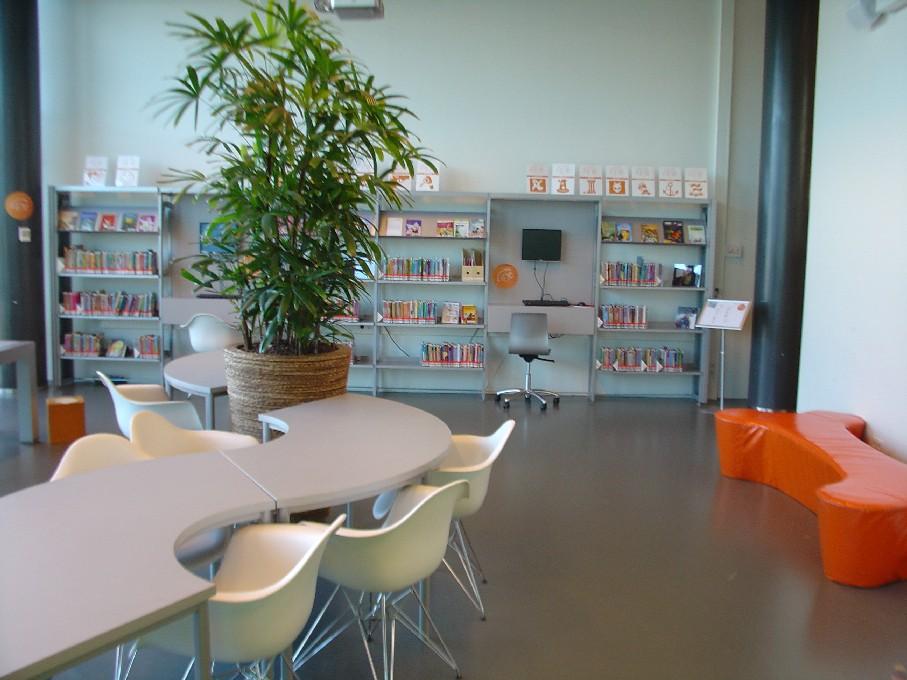 Bibliotheek Heerhugowaard – dětské oddělení