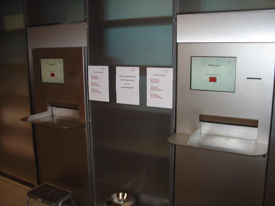 Bibliotheek Heerhugowaard – automat na vracení knih