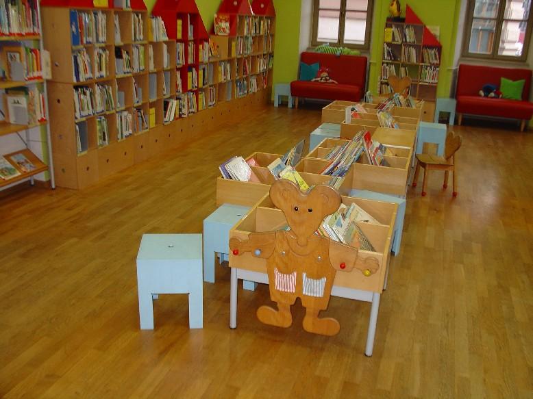 Stadtbücherei Würzburg  - dětské oddělení