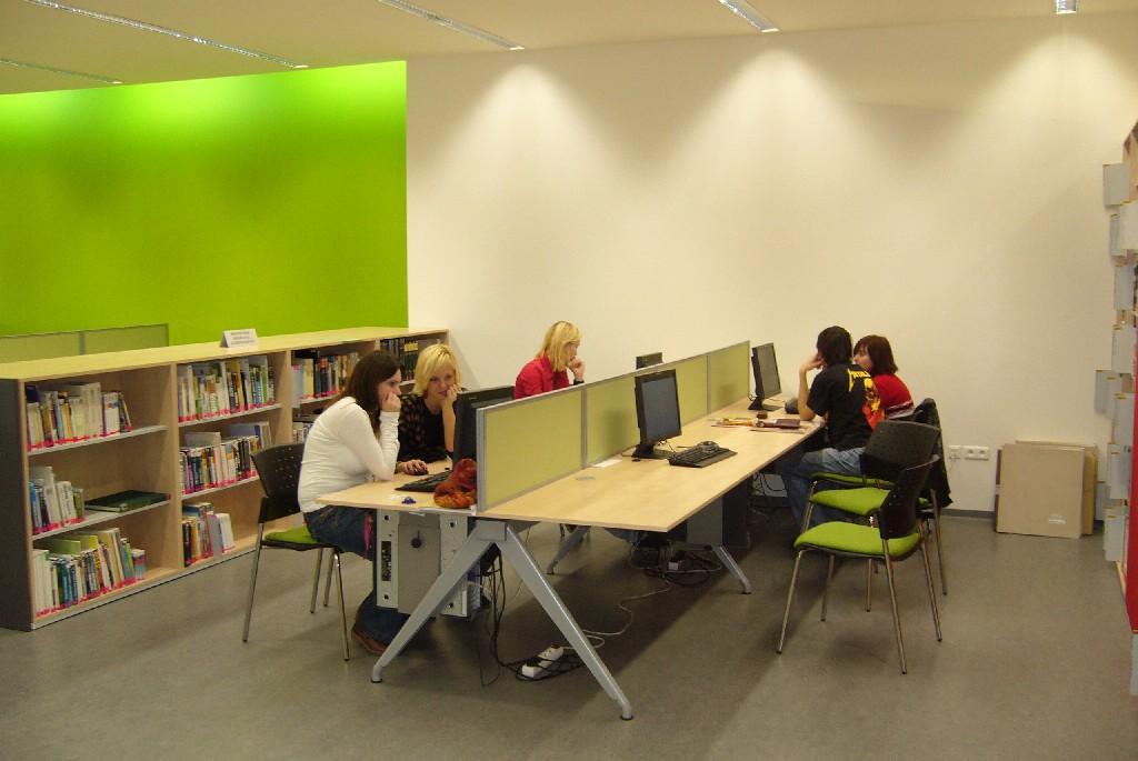 Študovna - počítače s prístupom na internet