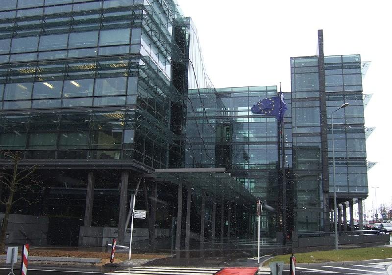 Budova Chambre de Commerce, kde se konference konala