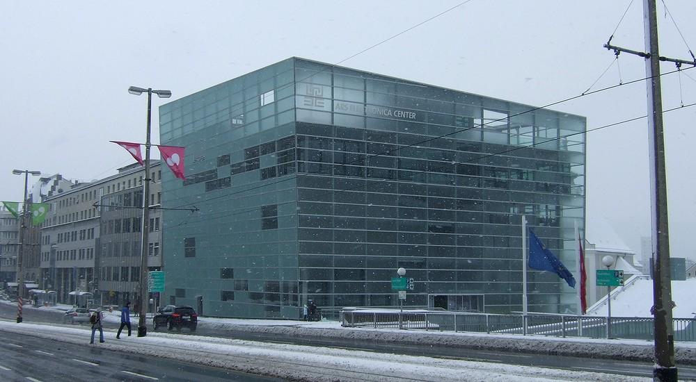 Nová budova Ars Electronica Center