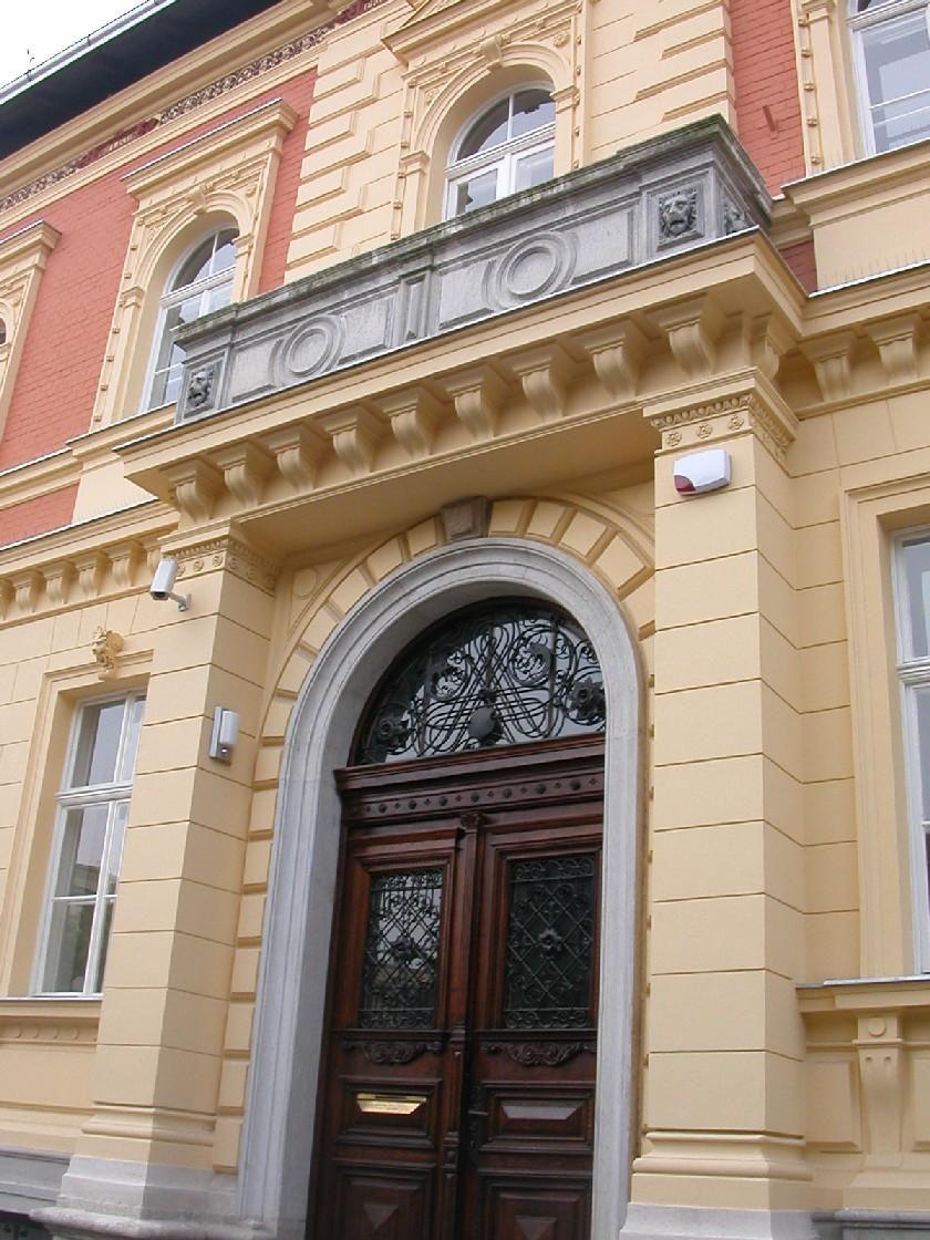 Obr. 3: Knihovna Chorvatské akademie věd a umění