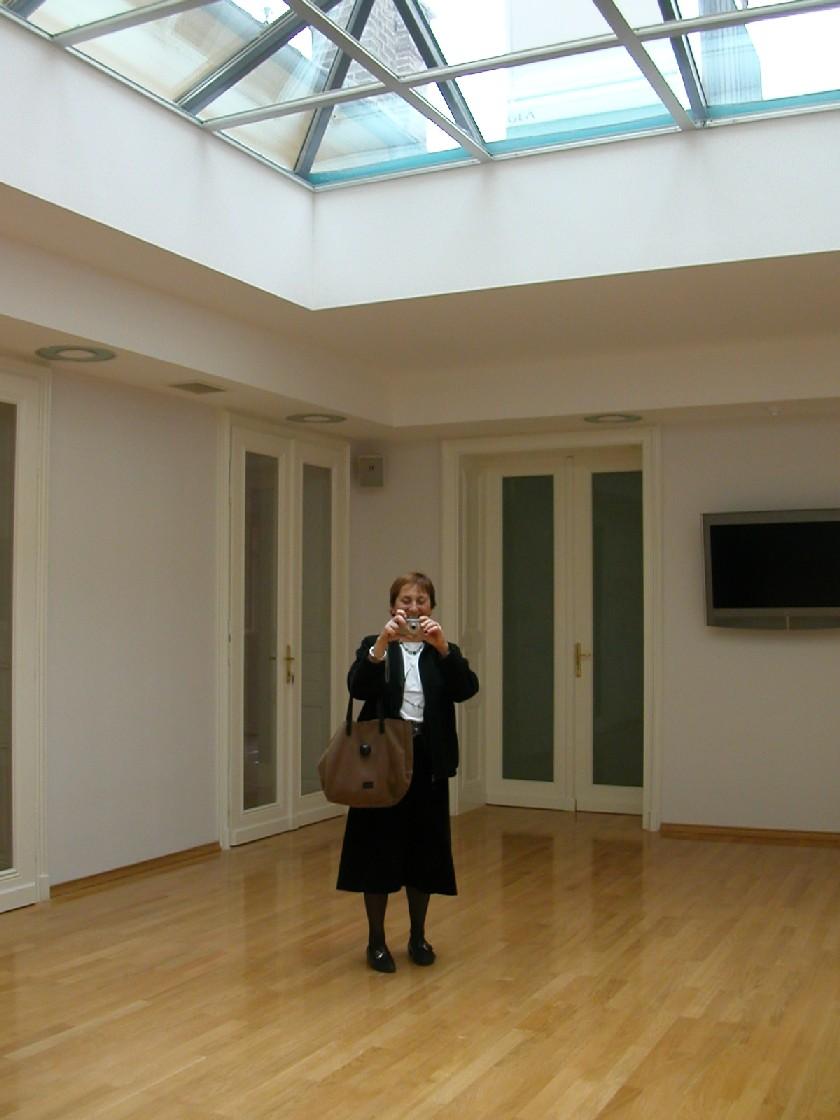 Obr. 5: Knihovna Chorvatské akademie věd a umění – interiér