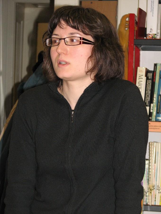 Naše průvodkyně Mgr. Kateřina Pojerová
