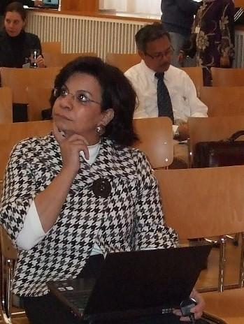 Ředitelka Alexandrijské knihovny v Egyptě dr. Sohair F. Wastawyová