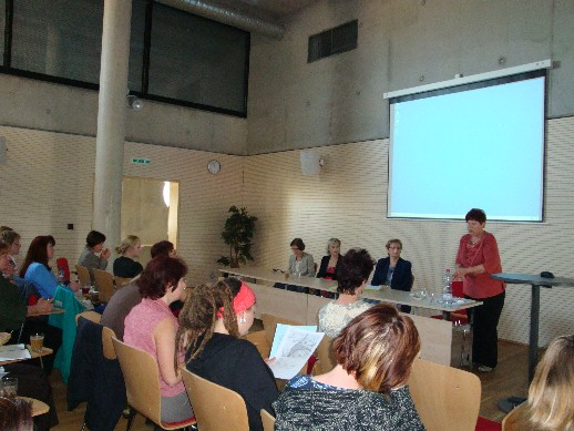 Ze semináře o informačním vzdělávání