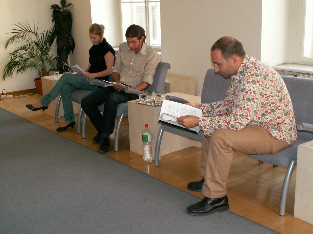 Dramatizace textů J. Mahena v podání studentů Konzervatoře Brno