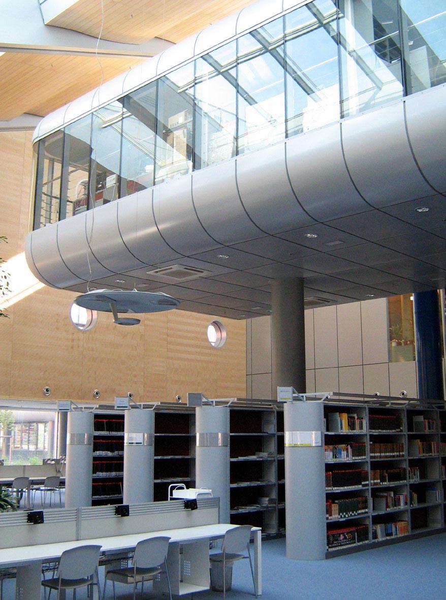 Knihovnické kanceláře v tzv.