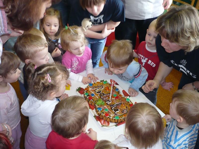Oslava narozenin - dort