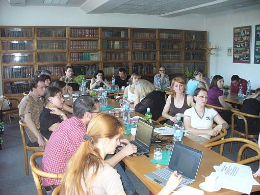 Obr. č. 4  Účastníci semináře