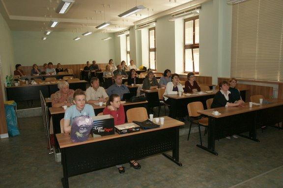 Účastníci Informačního dne