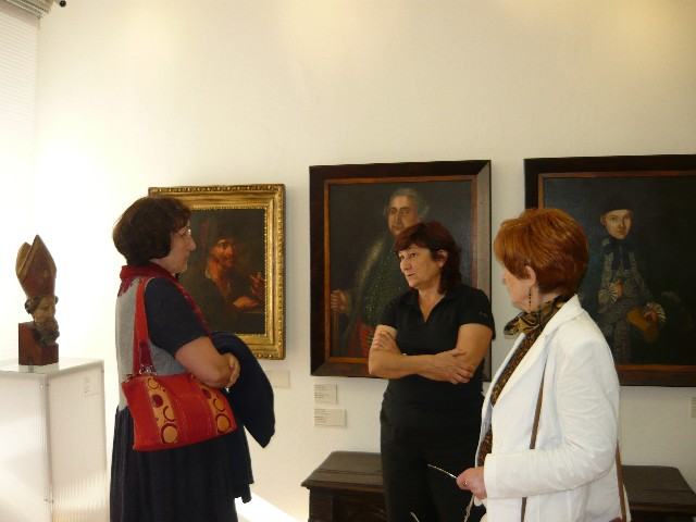 Návštěva Galérie umenia v Nových Zámkoch