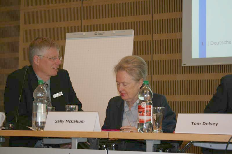 Reinhard Altenhöner a Sally McCallumová