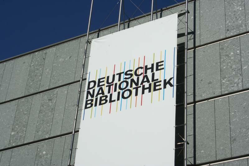 Logo Německé národní knihovny