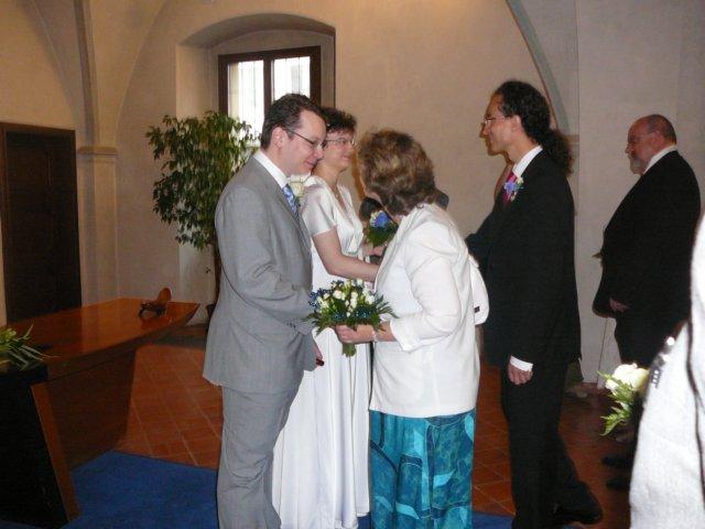 Blahopřání svědků