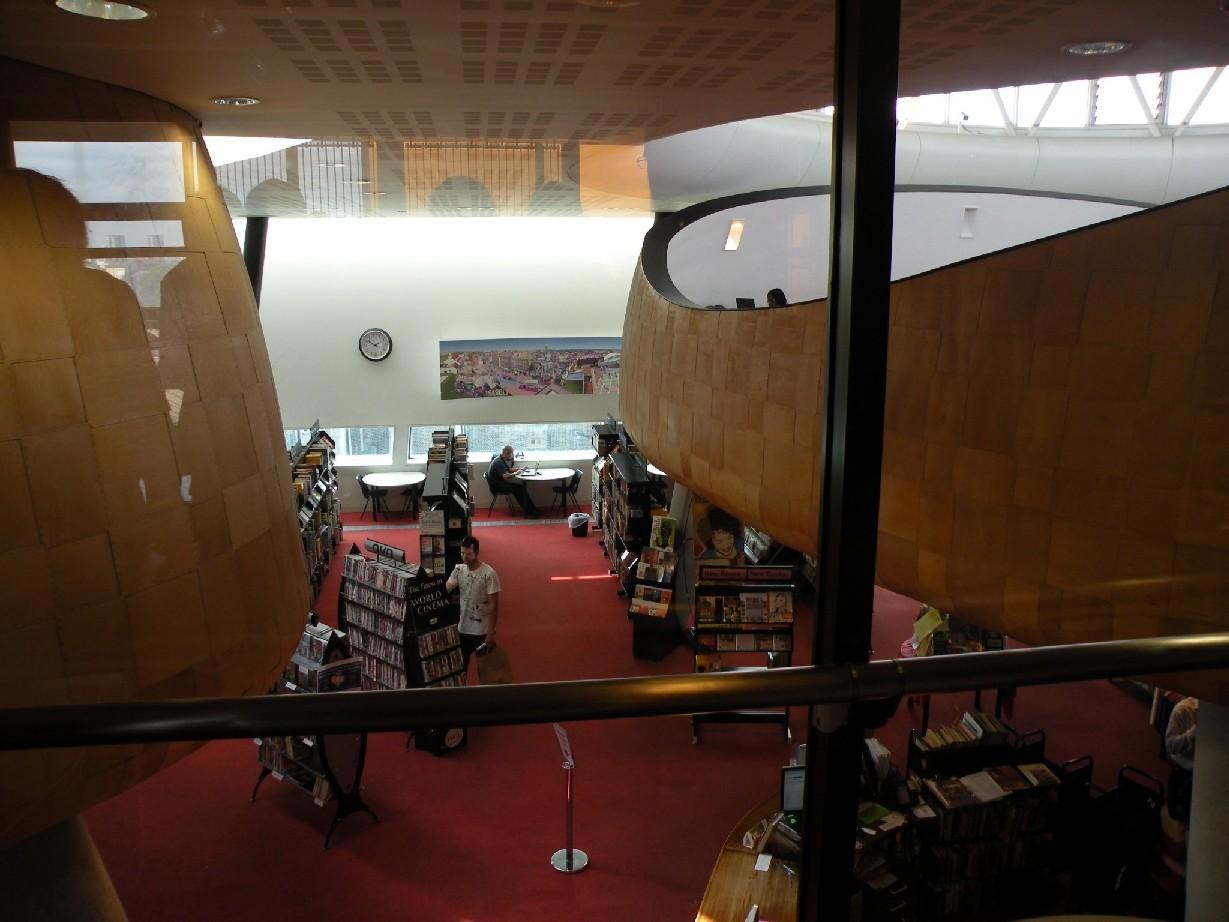 Studovny v Knihovně v Peckhamu