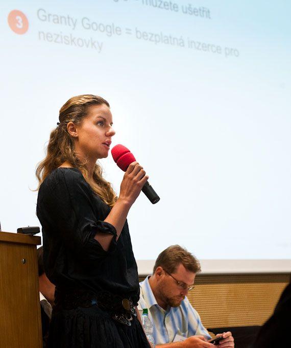 Kateřina Holcmanová představila nástroje a granty Googlu