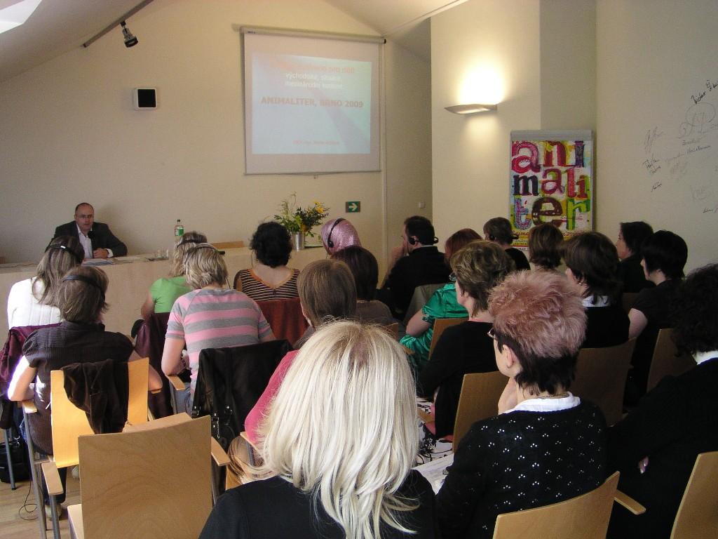 Knihovnický seminář - přednáška M. Reissnera
