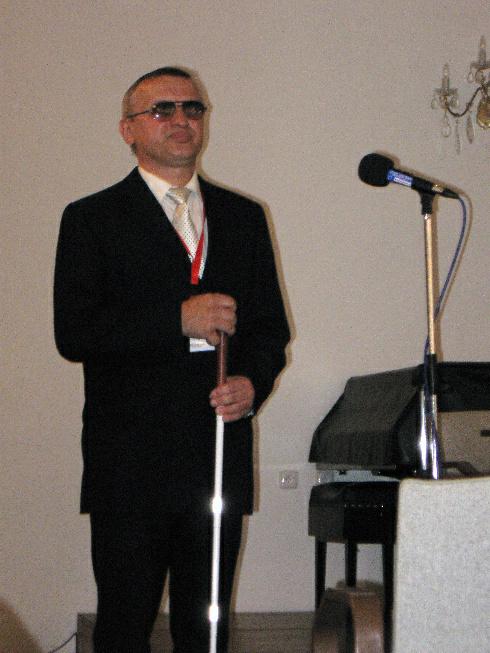 Prezident SONS Josef Stiborský