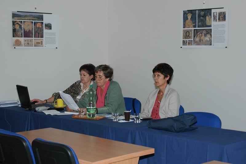 Prednášateľky Mgr. Gabriela Hamranová, Mgr. Marta Jahnátková a PhDr. Anna Kucianová - 8. 9. 2009