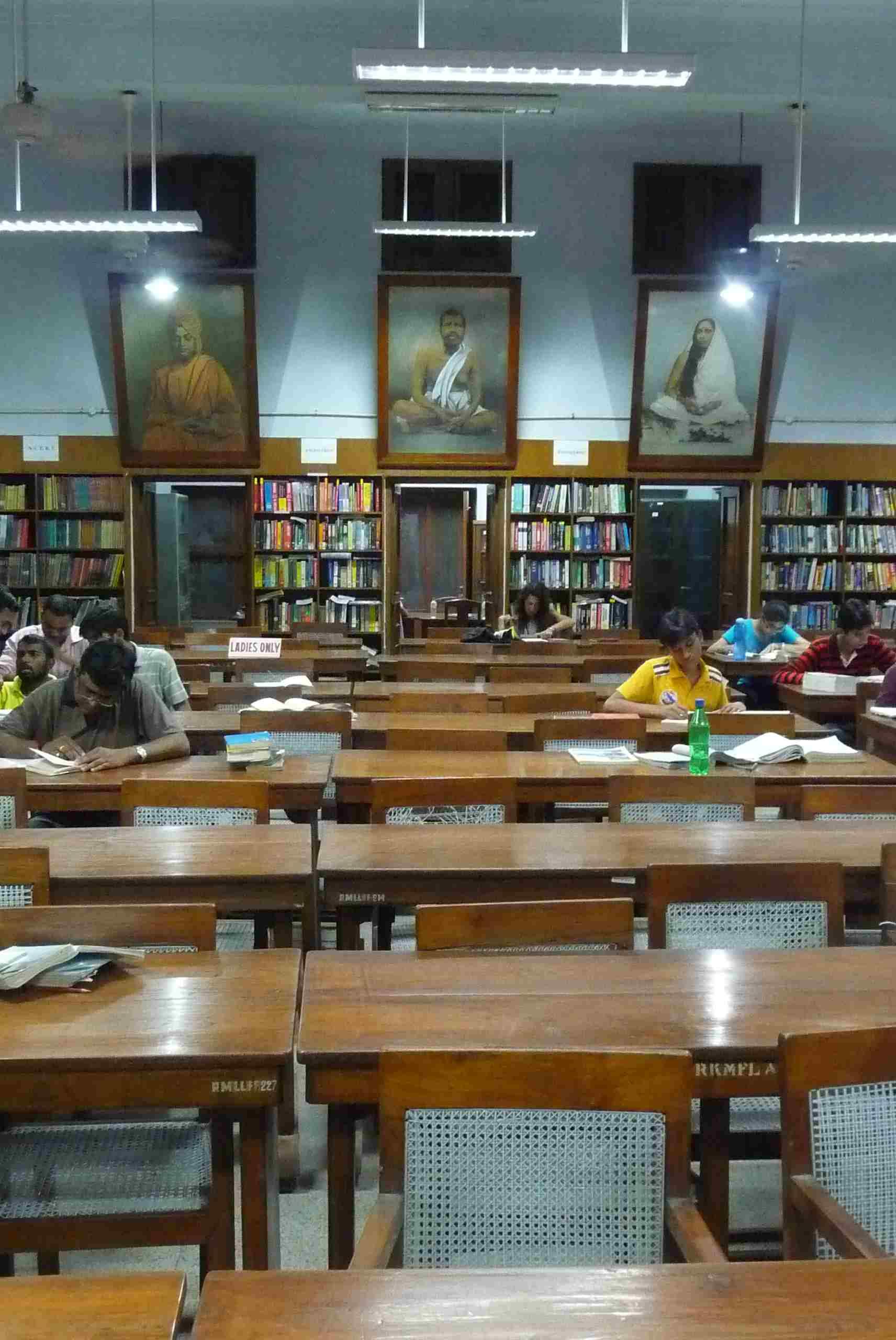 Knihovna Rámakrišnovy mise v Dillí