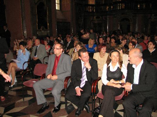 Účastníci slavnostního vyhlášení Knihovny roku 2009
