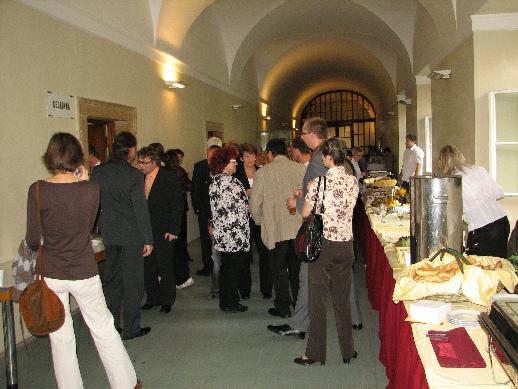 Po slavnostním vyhlášení vítězů jednotlivých kategorií následovalo neformální setkání s občerstvením v prostorách Národní knihovny ČR