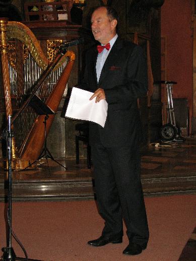 Za Ministerstvo kultury ČR vystoupil náměstek ministra JUDr. František Mikeš