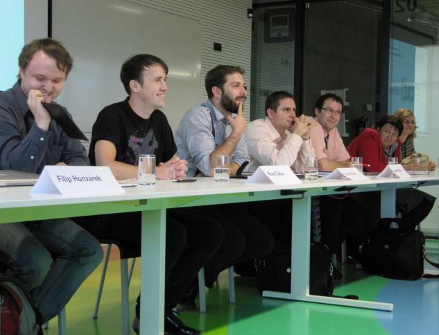 Panelová diskuse probíhala v příjemně uvolněné atmosféře