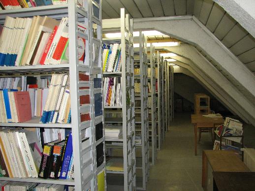 Podkrovní skladové prostory