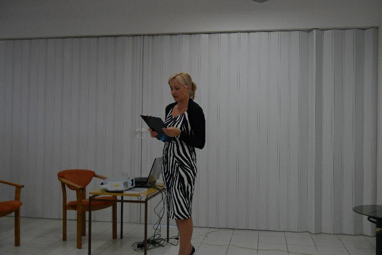 Ředitelka Krajské knižnice v Žilině a vedoucí sekce veřejných knihoven SAK Mgr. Katarína Šušoliaková