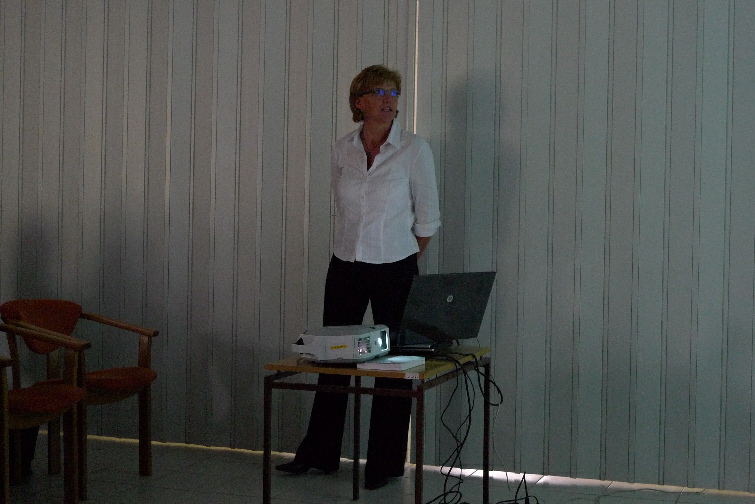 Bc. Irena Liberdová z Městské knihovny ve Frýdku-Místku