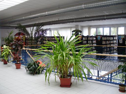 Interiér Krajské knižnice v Žilině