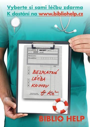 Obr. 1: Bezplatná léčba knihou