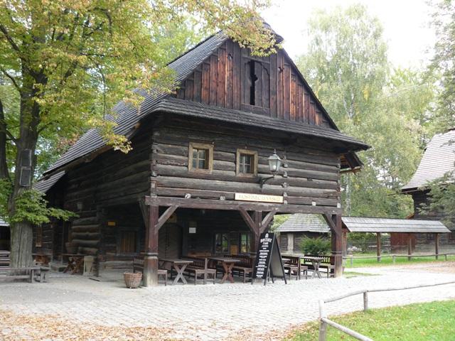 Dřevěné městečko – skanzen Rožnov