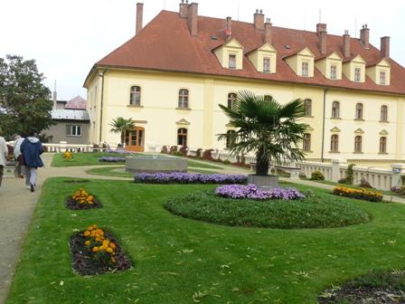 Zámecká střešní zahrada v Lipníku nad Bečvou