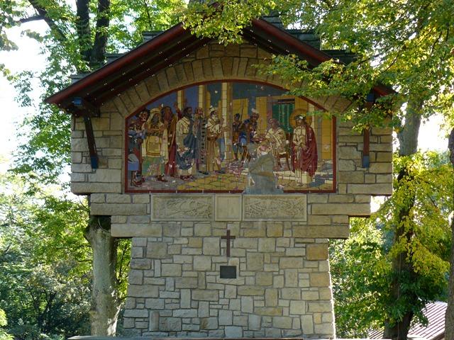 Křížová cesta na Hostýně