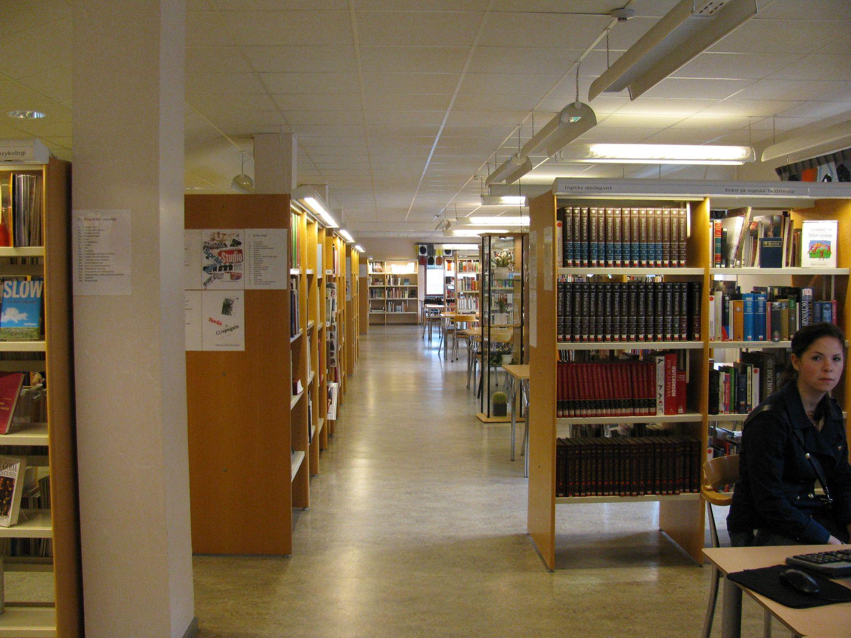 Knihovna Bäckängsgymnasiet