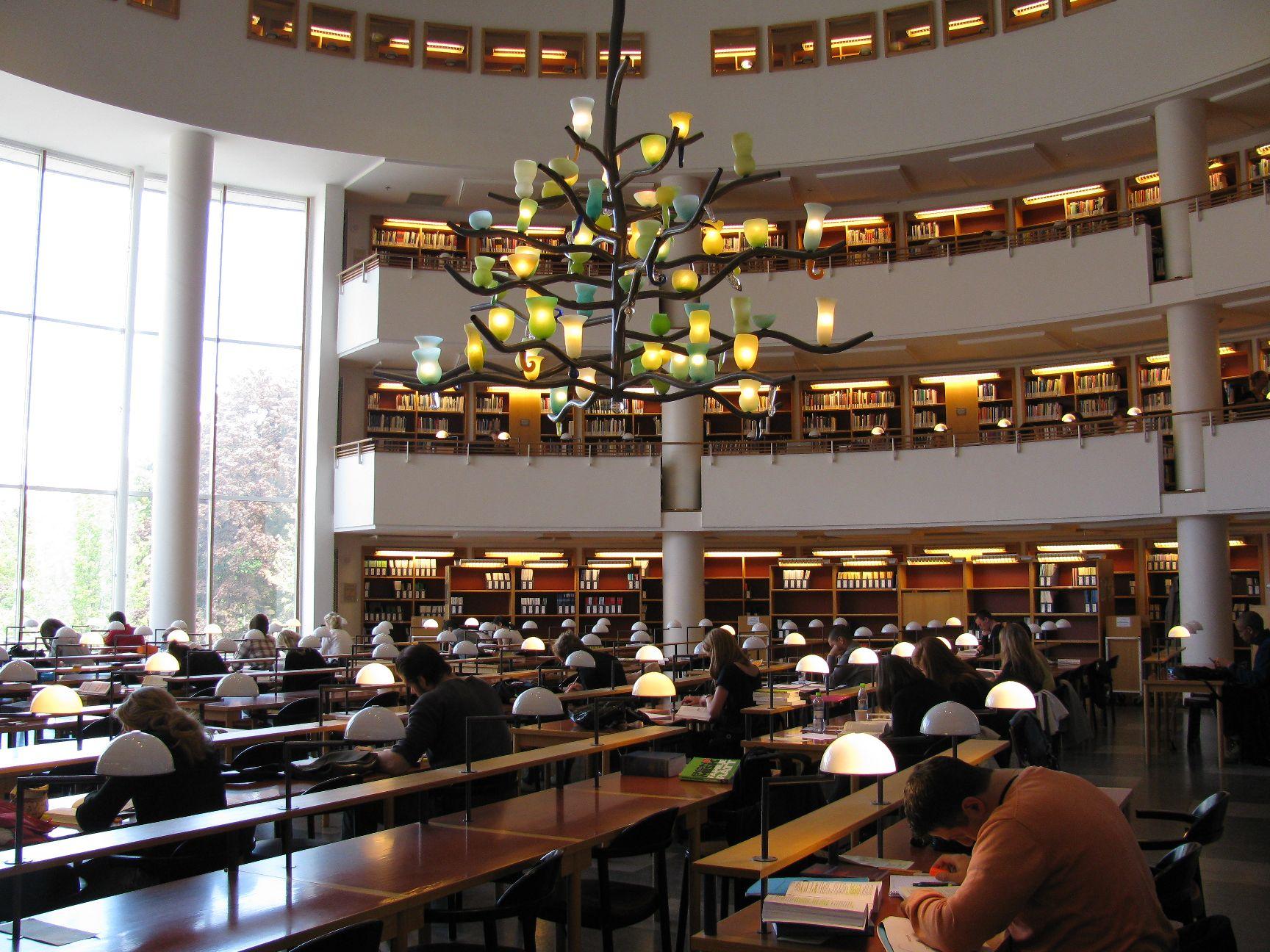 Univerzitní knihovna v Göteborgu - Ekonomická knihovna