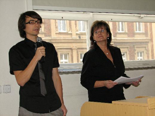 Zdeněk Zeman a Renata Valentová