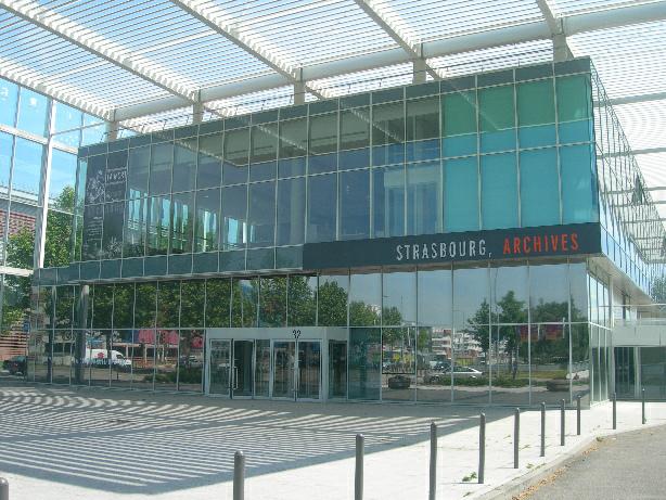 Štrasburk – Archiv města