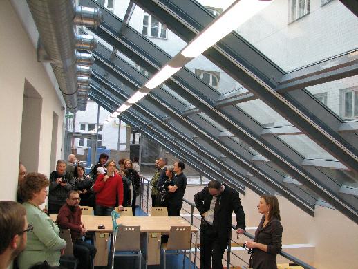 Studijní místa pod skleněnou střechou