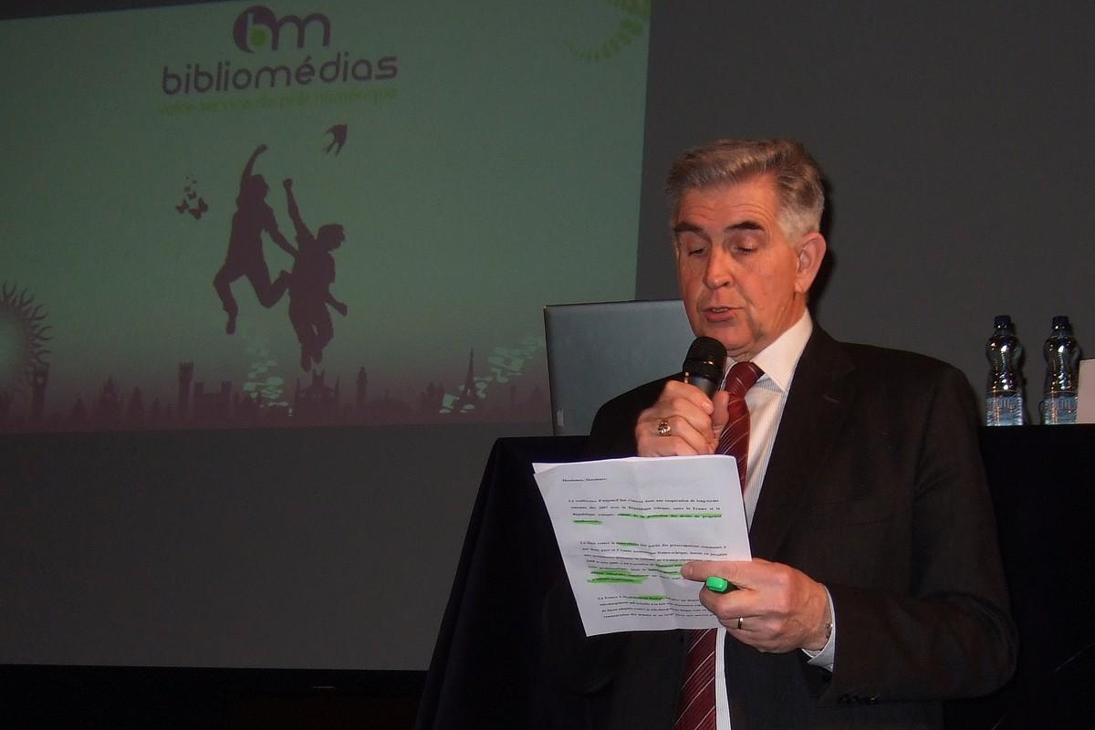 Úvodní slovo si připravil Bernard Boidin, ekonomický a obchodní rada francouzského velvyslanectví
