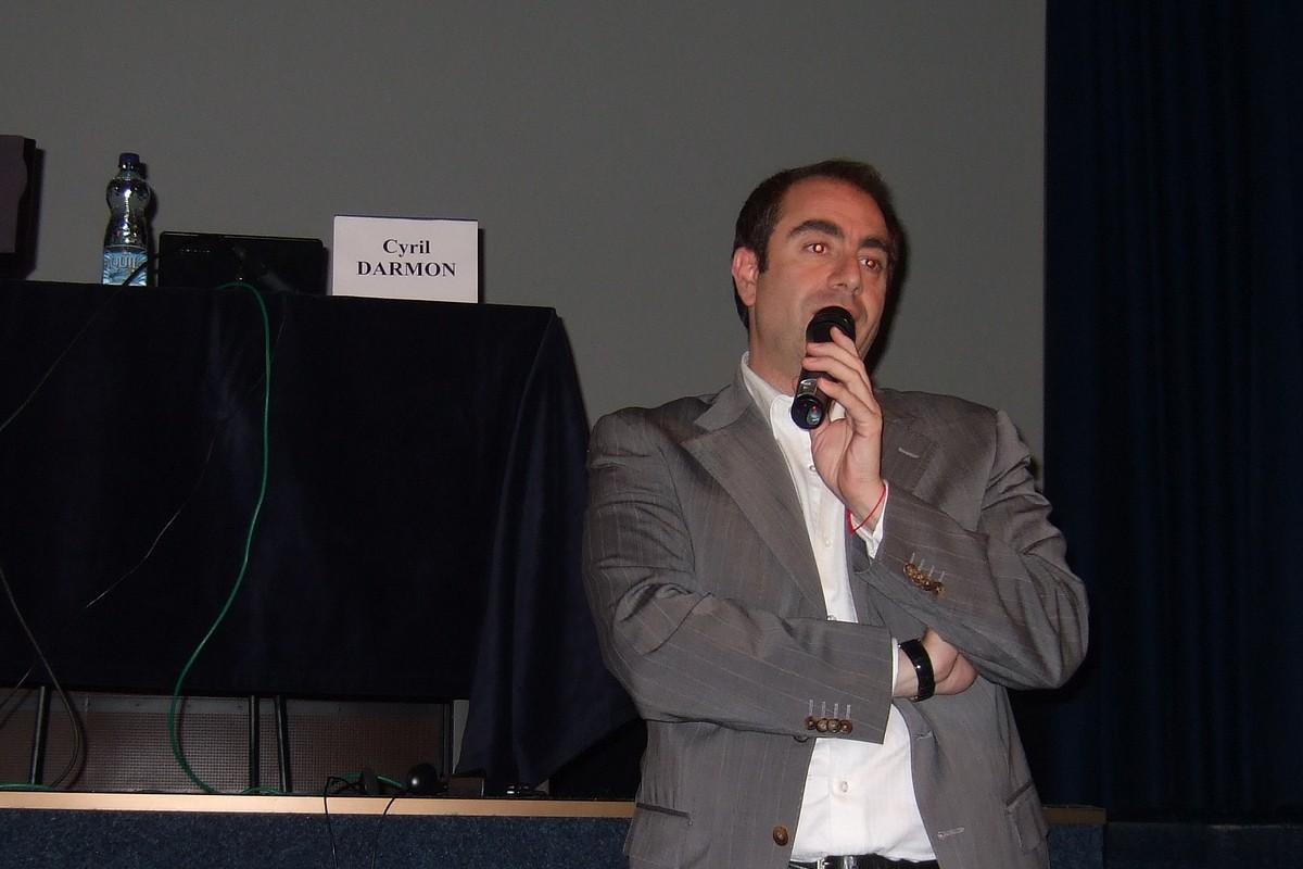 Cyril Darmon, generální ředitel společnosti Bibliomedias