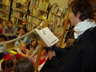 Společné čtení bylo jako každý rok velmi oblíbené