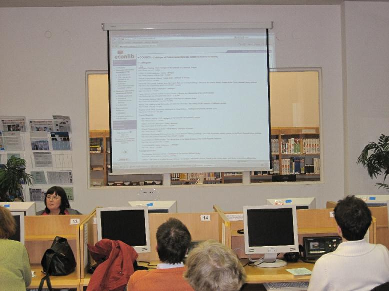 Představení knihovny Econlib