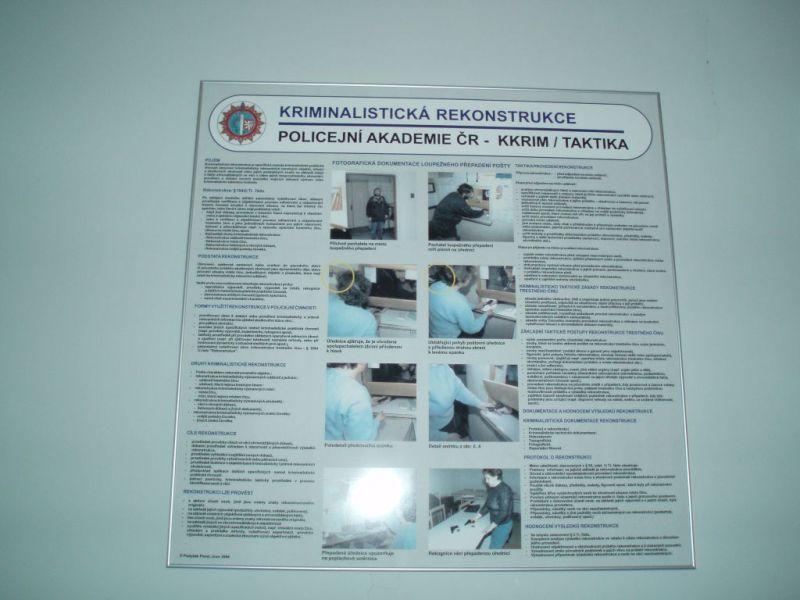 Jedna z přehledných informačních tabulí