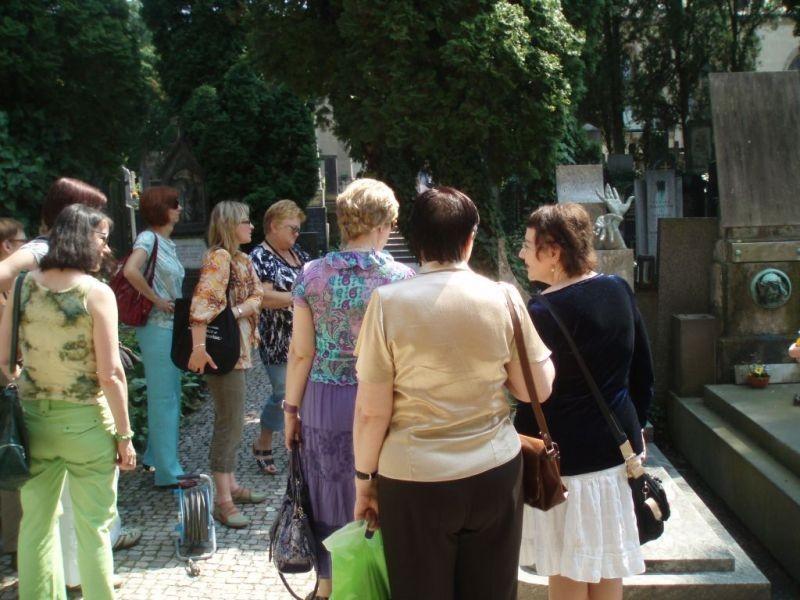 Návštěva Vyšehradského hřbitova se Slavínem