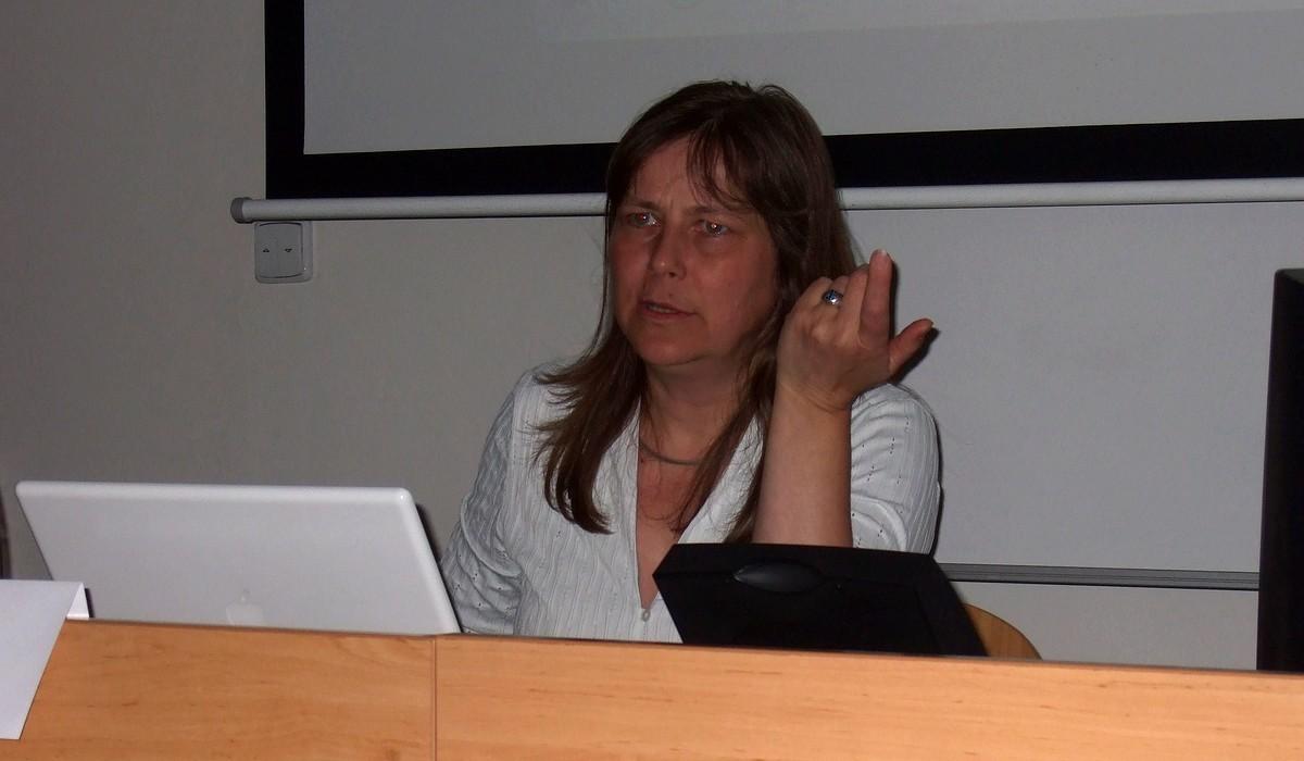 Gabriele Blomeová se zaměřila na možnosti vizualizace informací